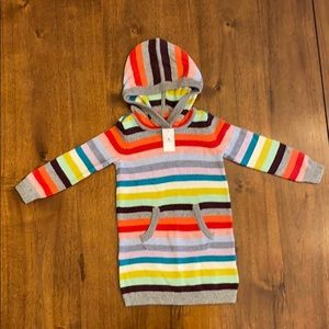 Baby Gap Toddler Size 3 Striped Sweater Dress